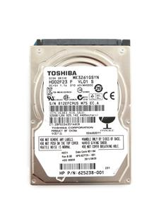 TOSHIBA MK3261GSYN 320GB 7200 RPM 16MB Cache Internal Notebook Hard Drive